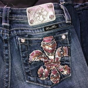 Size 16 miss me jeans in new condition